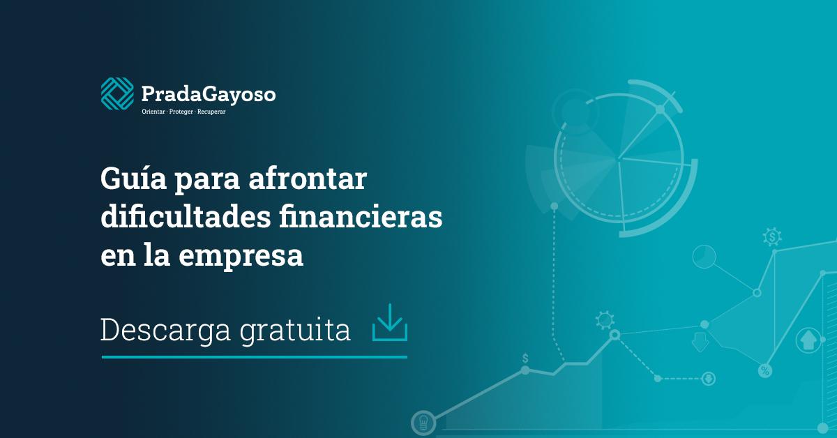 Guía práctica para afrontar dificultades financieras en la empresa - PradaGayoso